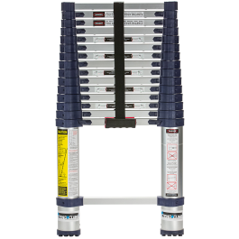 Xtend + Climb 785P Pro Series Telescoping Ladder, Front View Closed