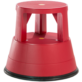 Red Stable Stool