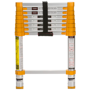 Xtend + Climb 750P Home Series Telescoping Ladder, Front View Closed