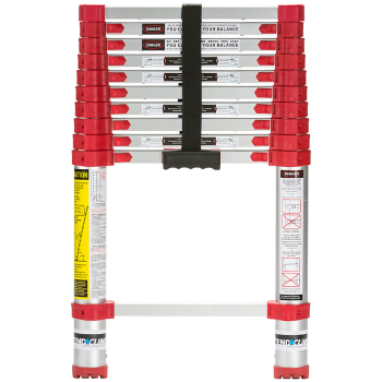 Xtend + Climb 760P Home Series Telescoping Ladder, Front View Closed
