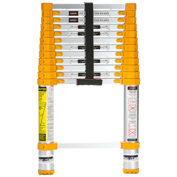 Xtend + Climb 770P Home Series Telescoping Ladder, Front View Closed