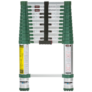 Xtend + Climb 780P Pro Series Telescoping Ladder, Front View Closed